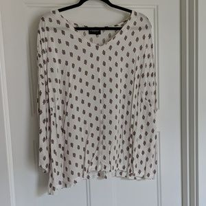 Long sleeve blouse by lane Bryant